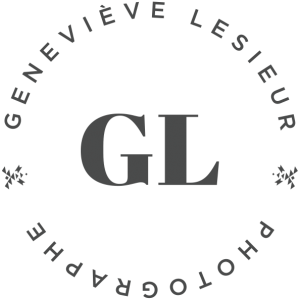 Logo Geneviève LeSieur photographe