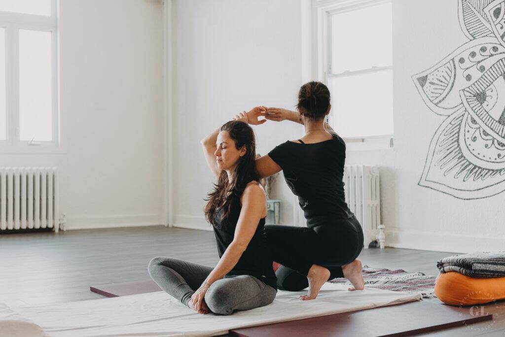Massage yoga Thaï Karine Mérinat